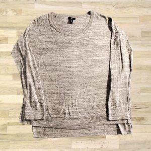 Gap outlet long-sleeved gray sweater size large